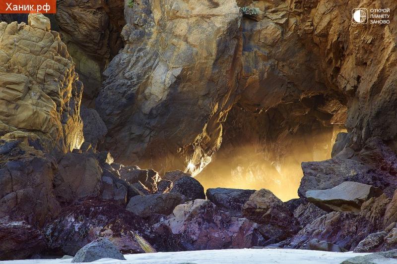 Лабиринт света, побережье Биг Сур, Калифорния