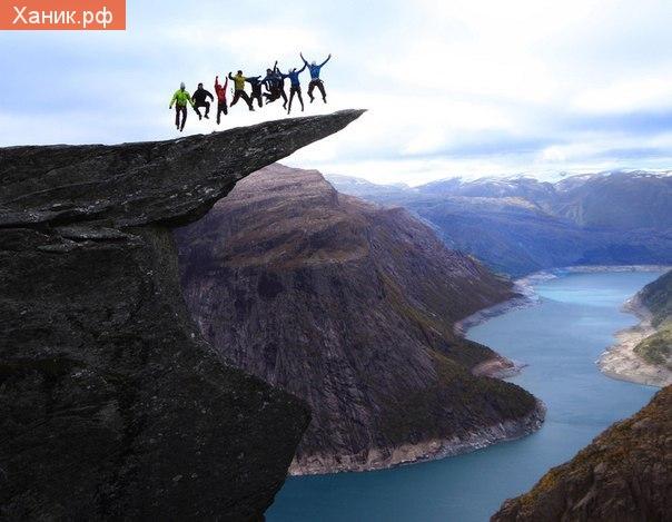 Норвегия, Язык, Тролль, Путешествия. Язык Тролля (Trolltunga) - потрясающее место в Норвегии.