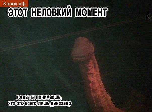 Динозавры, Моменты. Этот неловкий момент, когда ты понимаешь, что это всего лишь динозавр. Член