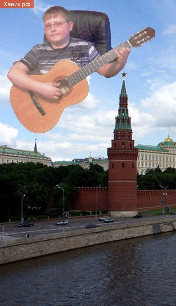 Фотография гитара photoshop