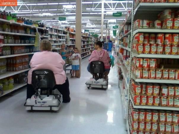 Шоппинг по-американски. Ожирение проблема Америки