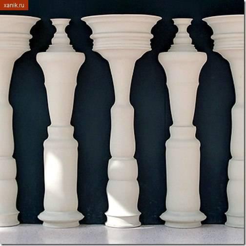 Оптическая иллюзия! Присмотритесь.
