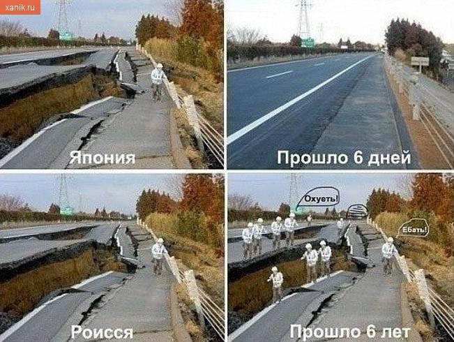 Япония после землетрясения и Россия